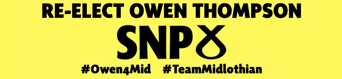 Owen Thompson for Midlothian