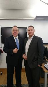 Meeting Alex Salmond 10 years after first council by-election, 2015