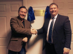 With Alyn Smith MEP at constituency office opening, November 2015