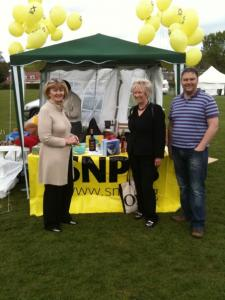 Penicuik in the Park with Christine Grahame MSP