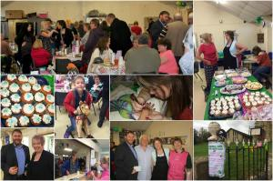 Macmillan coffee morning collage, Gorebridge, 24 September 2016
