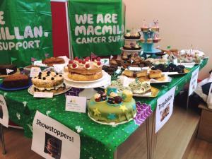 Volunteer Midlothian Macmillan coffee morning, 28 September 2016