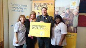 With Linda Robson supporting Marie Curie