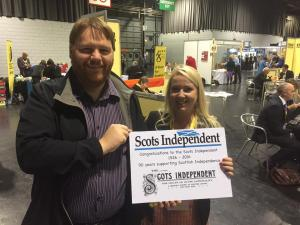 Supporting the Scots Independent with Cllr Kelly Parry, SNP Autumn 2016 Conference