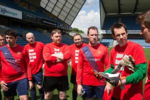 Show Racism the Red Card game, Millwall 23 May 2016